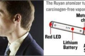 El E-Cigarette, un cigarrillo electrónico para dejar de fumar