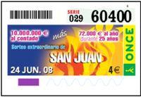 Extra de San Juan 2008