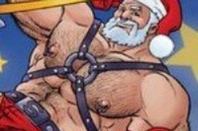 Papá Noel en forma antes de Navidad