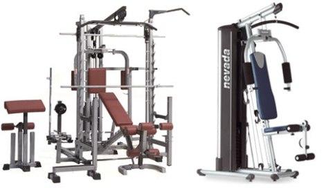 Como equipar tu gimnasio dom stico punto fape - Maquinas para gimnasio en casa ...