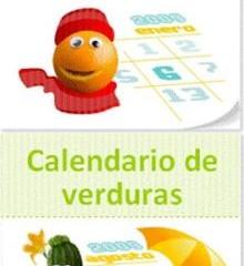 Mas Vegetales en tu dieta con el Calendario de Frutas y Verduras