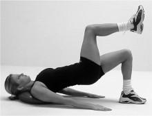 entrenar glúteos y caderas en casa