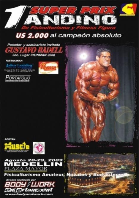Primer Super Prix Andino de Fisiculturismo y Fitness Figura - 2009