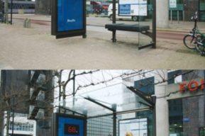 Fitness First mide tu peso en las paradas de buses