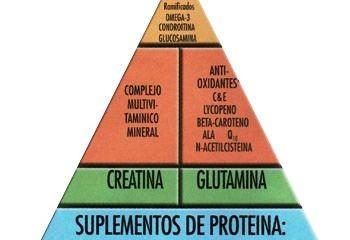 Culturismo y la Pirámide de suplementos