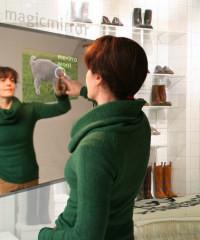 Espejo inteligente, el futuro de las tiendas de ropa