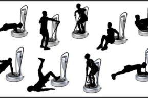 Plataformas vibratorias, programa para reducción de grasa