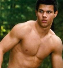 Taylor Lautner, entrenar para ser un licántropo