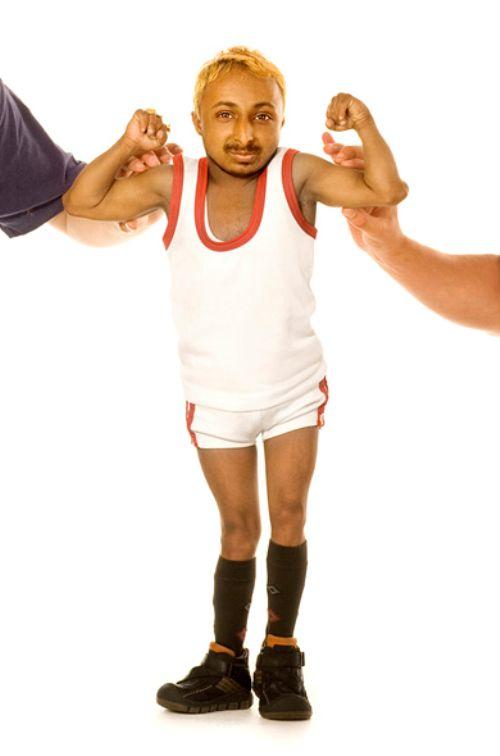 Aditya Romeo, el culturista más pequeño del mundo