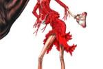 Dibujos de moda y anorexia 1