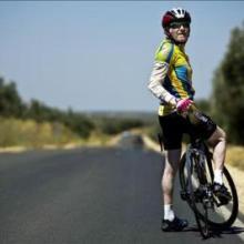 Pepe Fausto, ciclista a los 80 años