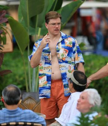 Matt Damon: gordo, contento y soplón! 1