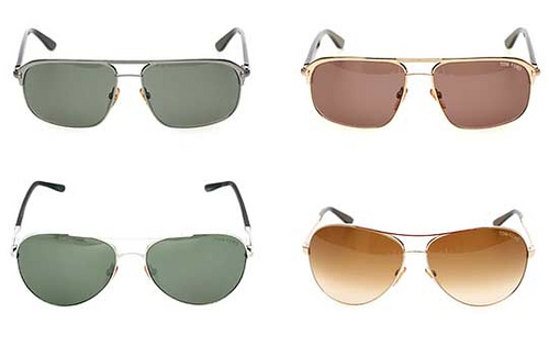 Aviator sunglasses by Tom Ford