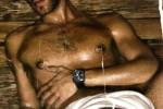 Jon Kortajarena en el sauna 2