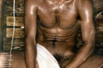 Jon Kortajarena en el sauna 3