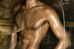Jon Kortajarena en el sauna 1