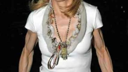 Los músculos de Madonna