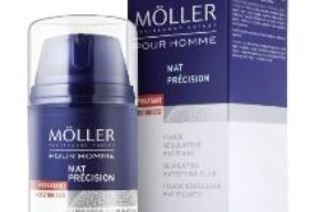 Mat Précision de Möller pour Homme, hidratar y eliminar brillos del rostro