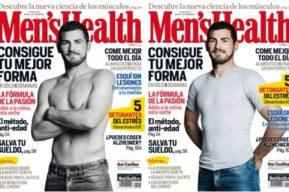 Iker Casillas es portada Men's Health