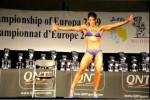 Raquel Hernández, subcampeona del mundo Body Fitness IFBB 1