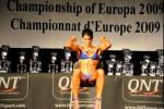 Raquel Hernández, subcampeona del mundo Body Fitness IFBB 2