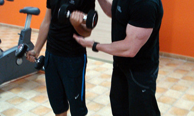 Fitness y pesas para adolescentes