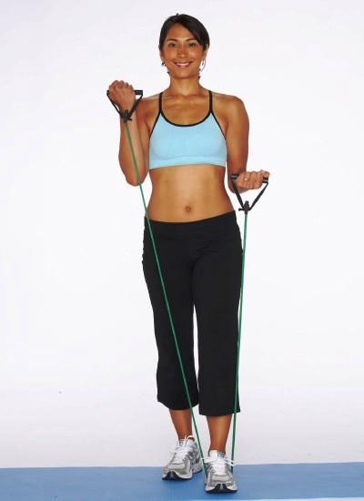 Mas ejercicios con bandas elásticas