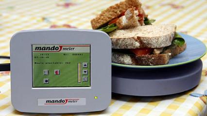 Mandometer, una balanza electrónica para aprender a comer