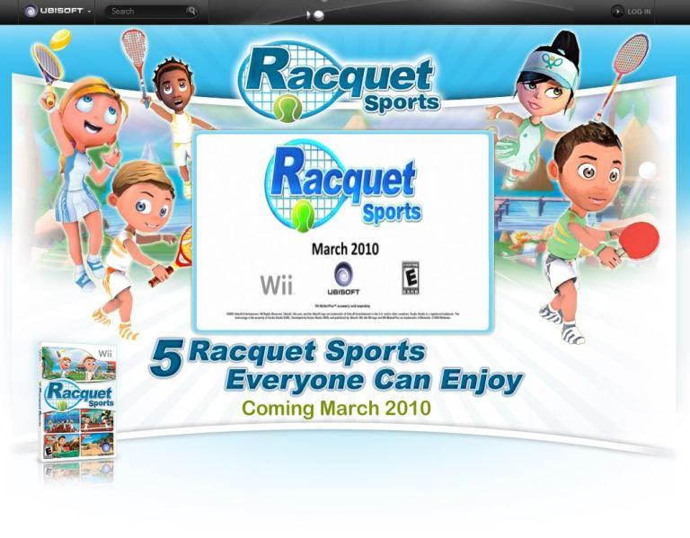 Racket Sports Party, juegos con raquetas para Wii