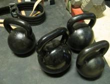 El entrenamiento con pesas rusas Kettlebells 1