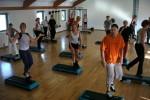 Ejercicios aeróbicos con Step