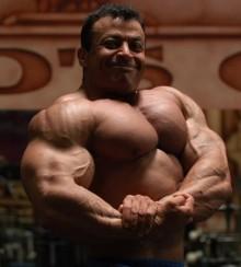 Mustafa Mohammad, un gigante del culturismo 1