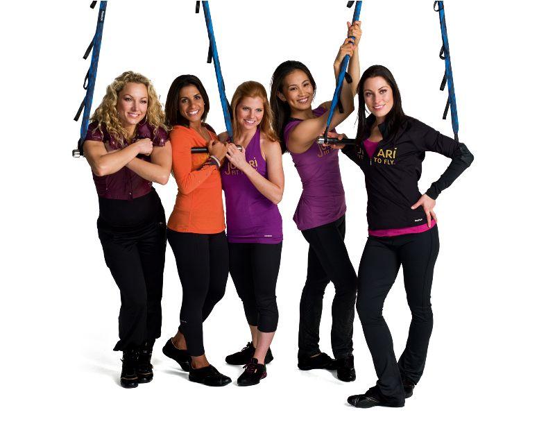 Jukari  Fit to Fly, fitness y acrobacias para chicas con Reebok