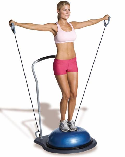El Bosu Balance Trainer, una nueva forma de entrenar