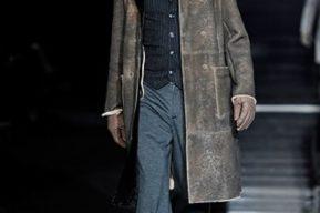 Otoño- Invierno 2010- 2011: Presentación de Armani en Milán
