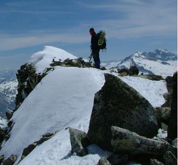 La montaña en invierno (III)