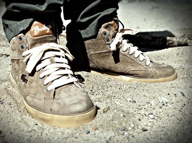 La nueva zapatilla de Bodega y Lacoste Esteban
