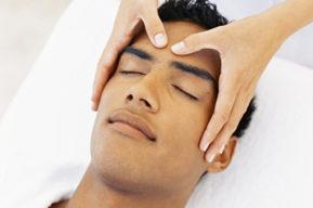 El masaje de cabeza