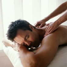 El masaje de espalda Hakim 1