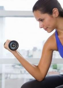 Las mujeres que no le temen a las pesas 1