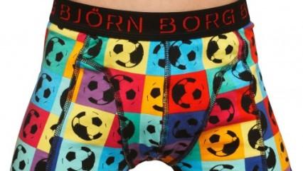 Björn Borg lanza una línea de ropa interior dedicada al mundial