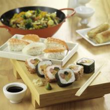 Sushi en la dieta culturista 1