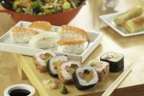 Sushi en la dieta culturista