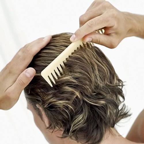 Revitalizar el cabello de los hombres