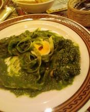 Para los fans de las pastas: Tallarines con salsa verde 1