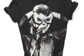 Zara lanza camisetas de David Bowie