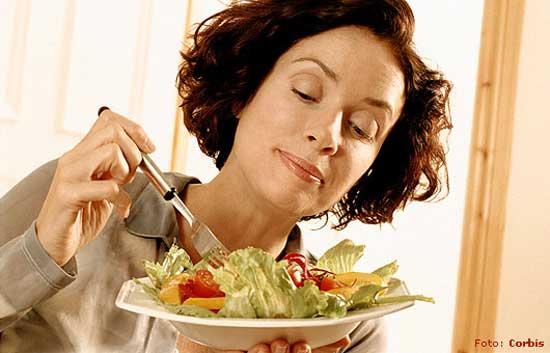 Comer liviano en la cena para no engordar