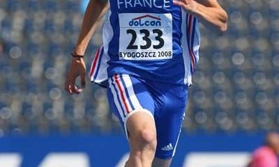 Christophe Lemaitre y los 100 metros
