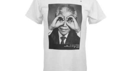 Camisetas con el rostro de Nelson Mandela