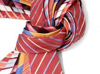 """El """"abc"""" para realizar el nudo de la corbata 1"""